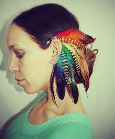Feather Ear Cuff