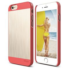 iPhone 6 Case, elago® S6 Outfit Matrix Aluminum and Polycarbonate Dual Case Limited-Edition for the iPhone 6 (4.7inch) - eco friendly Retail Packaging (Italian Rose / Champagne Gold) elago http://www.amazon.com/dp/B00PDNB23I/ref=cm_sw_r_pi_dp_A3rFub0PN0D0T