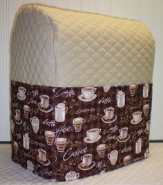 Check out this item in my Etsy shop https://www.etsy.com/listing/225785467/tan-quilted-coffee-cover-for-45-5-6qt