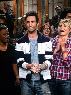 Adam Levine hosting Saturday Night Live (january 2013)