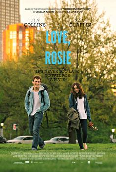fan made Love Rosie poster Sad Movies, Movies To Watch, Lily Collins, Alex And Rosie, Love Movie, Movie Tv, Romantic Films, Movie Couples, Romance Movies