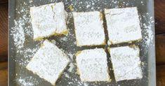 Chickpea Crust Lemon Bars!! Yum!