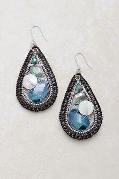 Vitrail Fale Crystal Teardrop Earrings   Emma Stine Jewelry Earrings