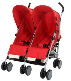 Kiddicare Twin Pushchair - Double Buggy