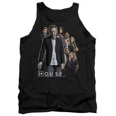 """Checkout our #LicensedGear products FREE SHIPPING + 10% OFF Coupon Code """"Official"""" House / Crew - Adult Tank - House / Crew - Adult Tank - Price: $29.99. Buy now at https://officiallylicensedgear.com/house-crew-adult-tank"""