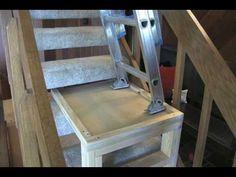 Build a Ladder Platform to Use on Stairs - Matt and Shari