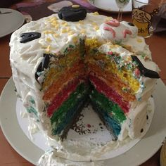 ... Rainbow Cake Star Wars