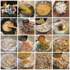 Old Fashioned Tuna Noodle Casserole - Sweet Little Bluebird