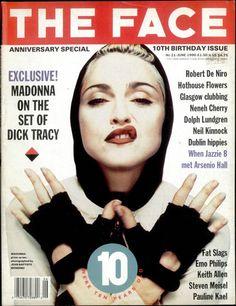 THE FACE Iconic magazine