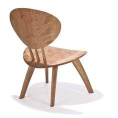 contemporary wooden chair JORDAN Peter Hook