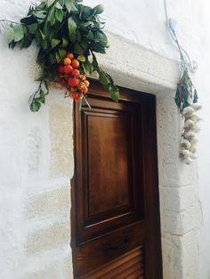 wooden simple door