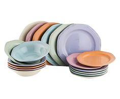"""Sada 18 talířů """"Octagon"""""""