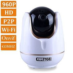 Special Offers - EWETON P2P 1280x960P(1280TVL)1.3MP IP Camera Smart Home WiFi Wireless IP Security Camera System Support Onvif NVR 433MHZ GFSK Protocol 50feet IR CUT Night Vision Motion Detection Email Alarm-W9A - In stock & Free Shipping. You can save more money! Check It (August 25 2016 at 03:49PM)…