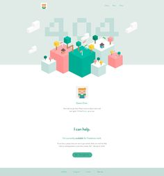 404 by Sean Halpin Web Design, App Ui Design, Dashboard Design, Page Design, Empty State, Line Video, 404 Pages, Isometric Design, Error Page