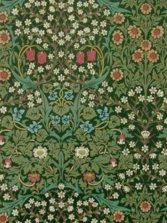 William Morris Blackthorn Tapet