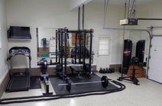 Luxury Home Gym In Garage Ideas