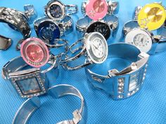 mixed designs bangle watches $4.25 - http://www.wholesalesarong.com/blog/mixed-designs-bangle-watches-4-25/