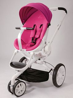 Quinny Moodd comes in a variety of cool color combos, like pretty pink and white