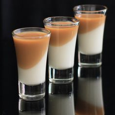 Dulce de Leche Panna Cotta ~ a perfect dessert that is really easy to make for Valentine's day or for any other function.
