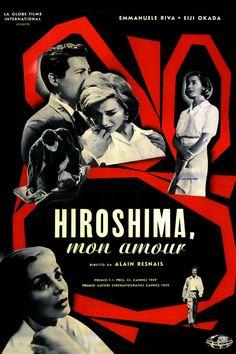 """La recensione di """"Hiroshima, mon amour"""" di Alain Resnais (1959) con Emmanuelle Riva, Eiji Okada, Stella Dassas, Pierre Barbaud, Bernard Fresson"""