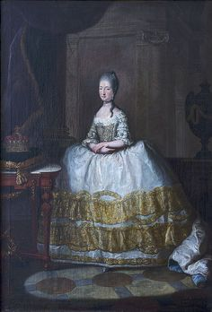 Maria Beatrice d'Este, Duchess of Massa, c.1772, Anton von Maron (workshop of) (1733-1808)