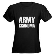 Army Grandma Shirt #cafepress #armygrandma