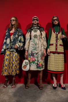 Backstage at Gucci SS17 MFW Dazed
