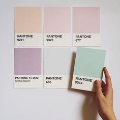 Image de pantone, pastel, and aesthetic Palette Pantone, Pantone Colour Palettes, Pastel Colour Palette, Colour Pallette, Pantone Color, Colour Schemes, Bedroom Color Palettes, Pantone Swatches, Soothing Colors