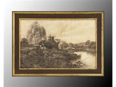 Shop for John Richard Cows At Waters Edge, GRF-4650, and other Accessories at Westside Foundry in Atlanta, GA. Reproduction Print In Sepia Tones. Hand-Finished Frame In Umber And Aged Gold.  36W x 26H (set of 2)