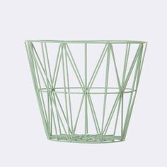 Wire basket  [ #FermLiving #homedecor #homestyle ]