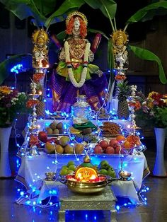 Housewarming Decorations, Diwali Decorations, Stage Decorations, Festival Decorations, Gauri Decoration, Ganapati Decoration, Pooja Room Design, Ethnic Home Decor, Puja Room