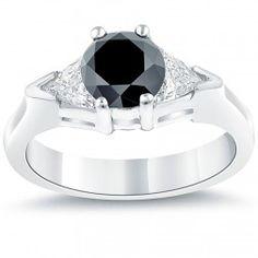 Black Diamond Rings | Color Rings | Liori Diamonds