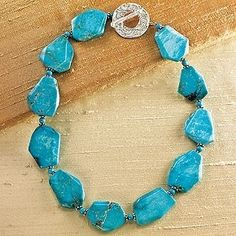 Turquoise Nugget Necklace                                               Turquoise Nugget Necklace