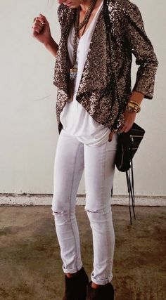 Love this sequin jacket. Could definitely find styles like this at Nordstrom!