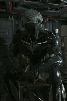 Raiden Uniform || Metal Gear Solid V The Phantom Pain Anime Couples Manga, Cute Anime Couples, Anime Girls, Raiden Metal Gear, Metal Gear Rising, Ninja Art, Future Soldier, Metal Gear Solid, Character Design
