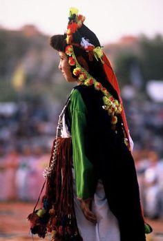 Moroccan woman.
