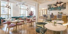 """Vincci Centrum ha creado el concepto """"Cakes & Churros"""" en su nuevo espacio Bellini Food & Bar. Un espacio donde desarrollar una nueva oferta de desayunos."""