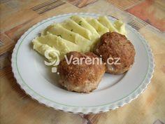 Recept na tradiční smažené karbanátky z mletého masa. Baked Potato, Food And Drink, Potatoes, Baking, Ethnic Recipes, Arizona, Potato, Bakken, Backen