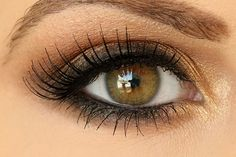MAC Eye Makeup Looks For Brown Smokey Eye Makeup, http://wp.me/p4NpVB-7W . . Brown smokey eye is a great look if you want a dramatic look, without being too dark. he pop of gold, . . . #BrownSmokeyEyeMakeup #BrownSmokeyEyeMakeupStepByStep #SmokeyEyeMakeupTutorialForBrownEyes