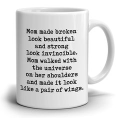 Perfect Gift for Mom from Daughter Coffee Mug, Unique Presents for Mot - Stir Crazy Gifts Bday Gifts For Him, Diy Gifts For Mom, Mothers Day Crafts For Kids, Easy Diy Gifts, Mothers Day Presents, Perfect Gift For Mom, Unique Presents, Mother Day Gifts, Diy Mother's Day Crafts