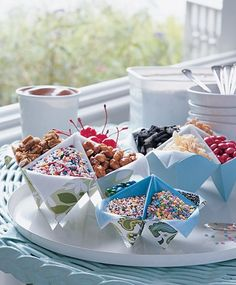 Candy bar - Recipientes de papel