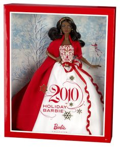 Barbie Collector 2010 Holiday African-American Doll
