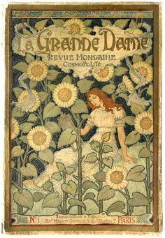 la Grande Dame- nr 1.    Revue Mondaine & Cosmopolite    ( paris)