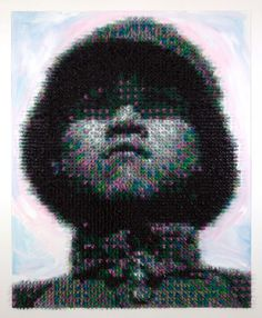 5500 toy soldiers portrait. Made in china - Joe Black #art