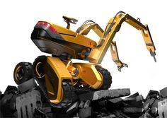 ARMB - Remotely Controlled Excavator