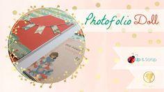 Tutorial phofolio scrapbook Minis, Mini Albums, Scrapbooking, Map, Blog, Journaling, Videos, Youtube, Trapper Keeper