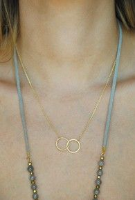 Layer It Necklace - Double Trouble