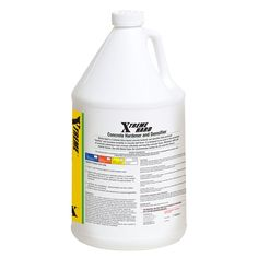 #ConcreteDensifier #BestConcreteDensifier  1 GAL. XTREME HARD CONCRETE DENSIFIER - is a green, clean and safe material. Its low pH formula (pH approx 8.7, only slightly higher than baking soda) is safer for you to handle. Xtreme Hard emits no Volatile Organic Compounds (VOCs) and eliminates the hazardous-material disposal, so it's better for the job site and friendlier to the planet. Xtreme Hard is shipped as a concentrate. One gallon of concentrate makes five gallons of ready-to-use…