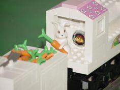 Easter Train: A LEGO® creation by Kenneth Nagel : MOCpages.com