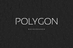 Check out Polygon BGs Dark | Point Style V02 by Digital ART on Creative Market